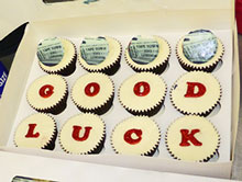Good Luck cup cakes